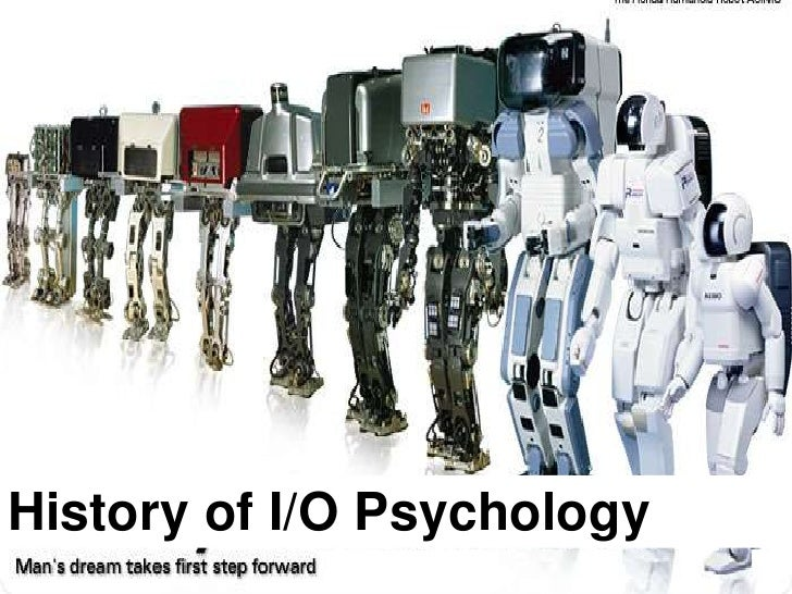 History of I/O Psychology <br />
