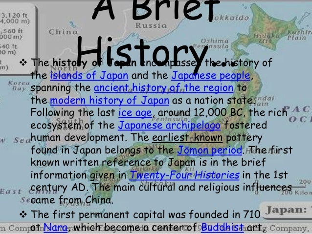 history of japan Japan travel guide, offering information on japanese popular culture, the history of japanese culture, etiquette and relocation information - it's all here at japan zone.