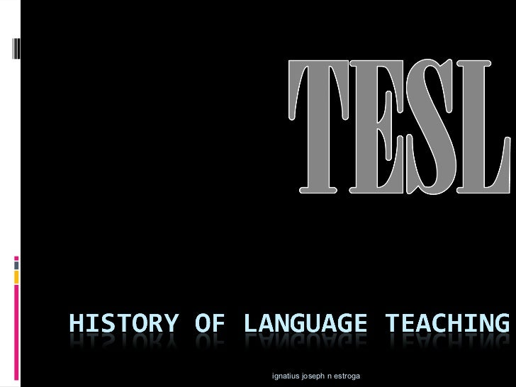 History of language_teaching