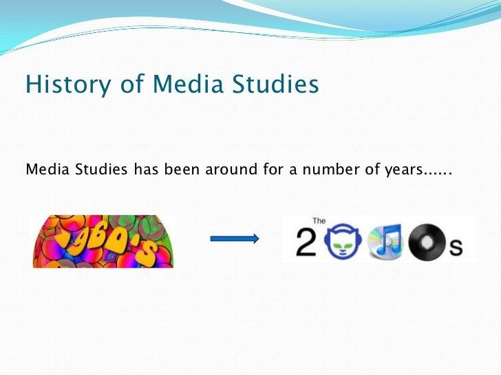 History or Media Studies?