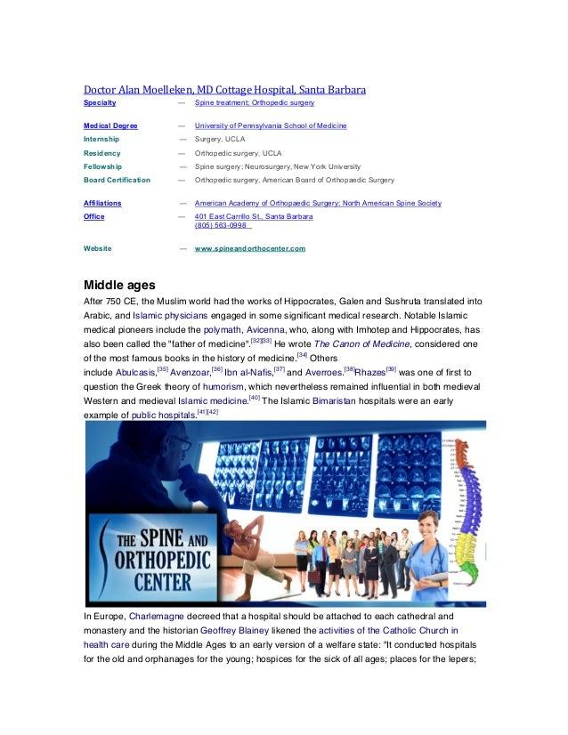 History of middle ages alan moelleken lawsuit terms cottage hospital santa barbara md