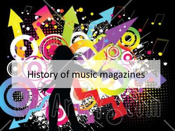 History of music press