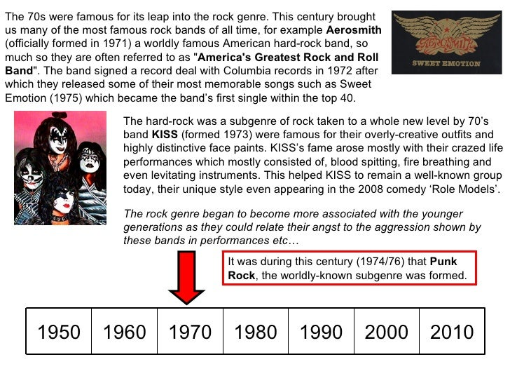 a description of rock musics evolution through time Human evolution is the lengthy process of change by which people  over time,  genetic change can alter a species' overall way of life, such as what it eats, how.