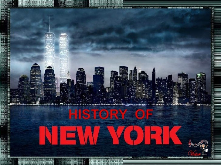 History of new_york