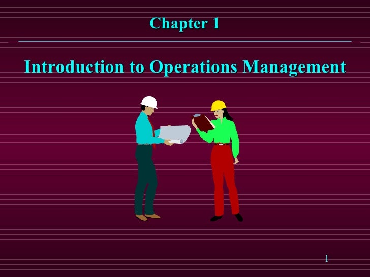 History Of Production Operations Management (POM)