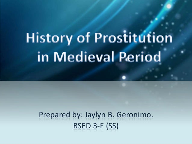the history of prostitution essay Marcia neave for asking me to provide the victorian inquiry into prostitution with  an  an essay on prostitution for the people's history to be published in 1987.