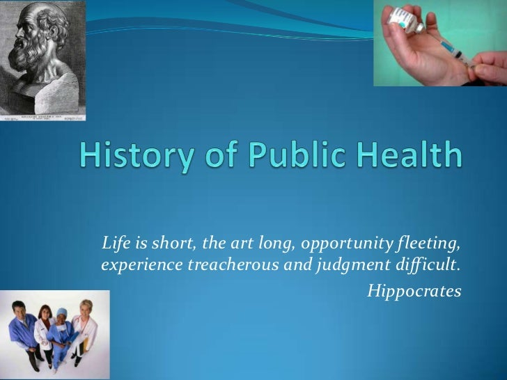 history of public health essay Why study public health you care about improving the conditions that affect others' well-being so do we learn more about our mission at pitt public health.