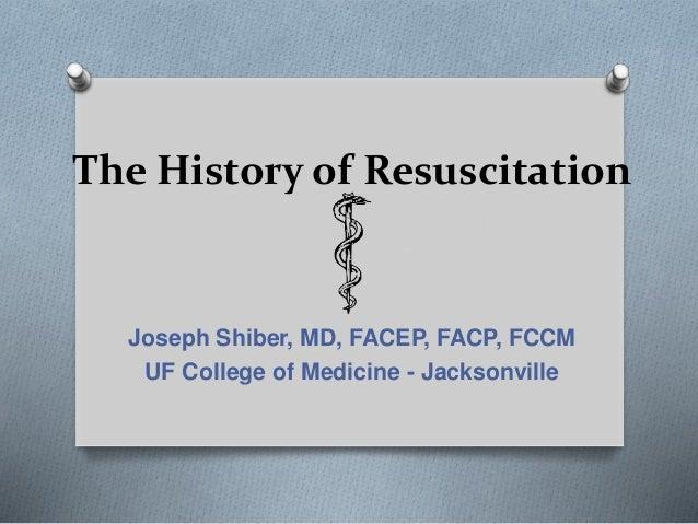 History of resus