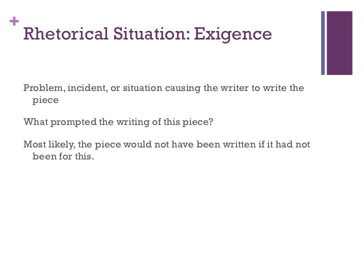 Example of a rhetorical analysis