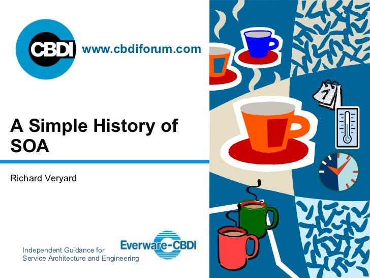 A Simple History of SOA
