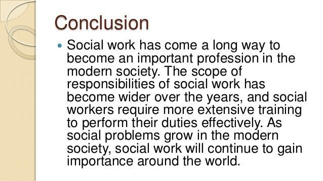 conclusion of social problem