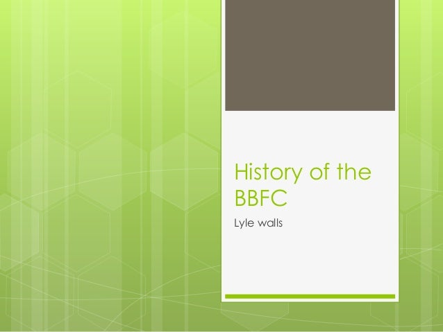 History of theBBFCLyle walls