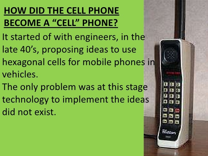 an introduction to the history of the cell phones An introduction to smartphones what are they and how to choose one mobile phones brand apple blackberry google htc  what is a smartphone.
