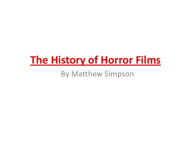 History of the genre