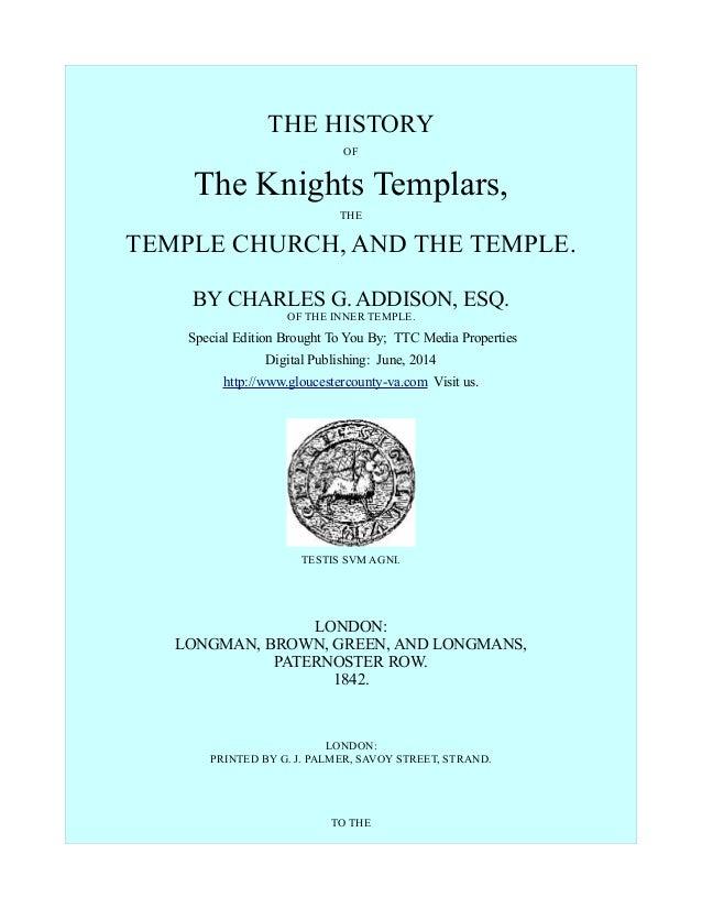 History of The Knights Templar, Free eBook