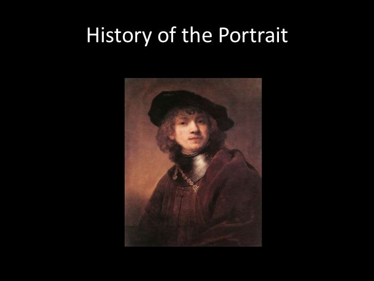 History of the Portrait<br />