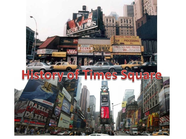 History of Times Square New York City