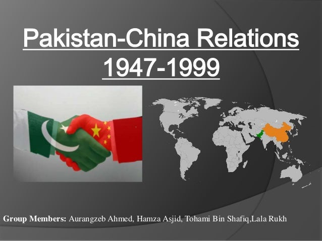 indo pakistan relationship with china