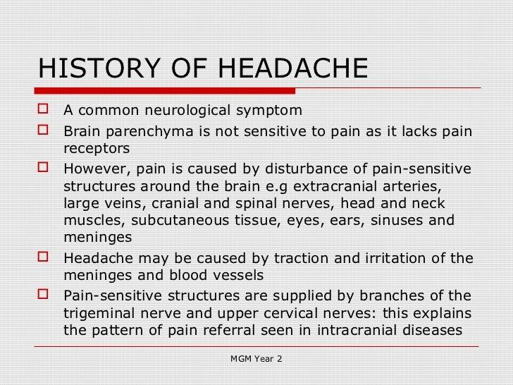 History Taking In Neurology 2012