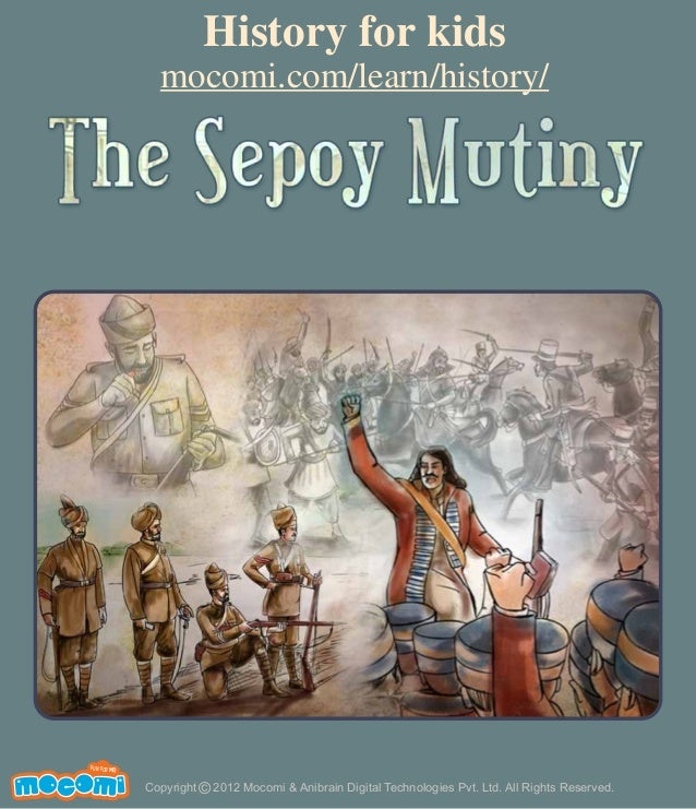 an introduction to the sepoy mutiny of 1857