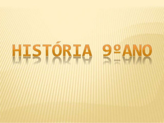 História 9ºano