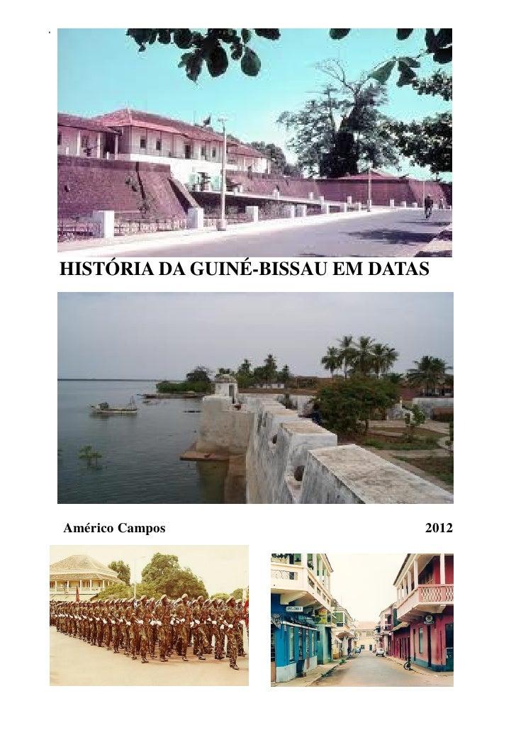 História da guiné bissau em datas