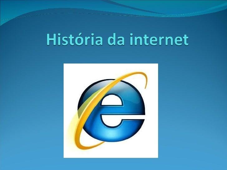 História da internet!