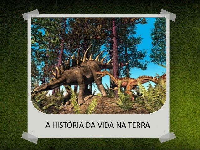 A HISTÓRIA DA VIDA NA TERRA