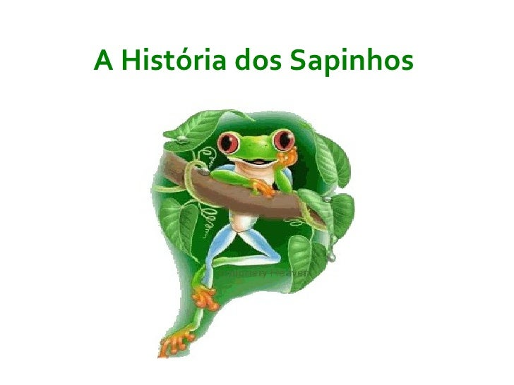 História de Sapitos