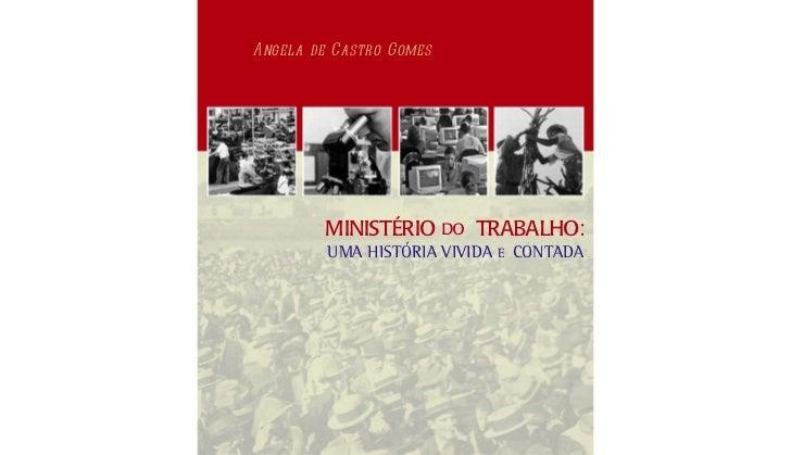 História do ministério do trabalho