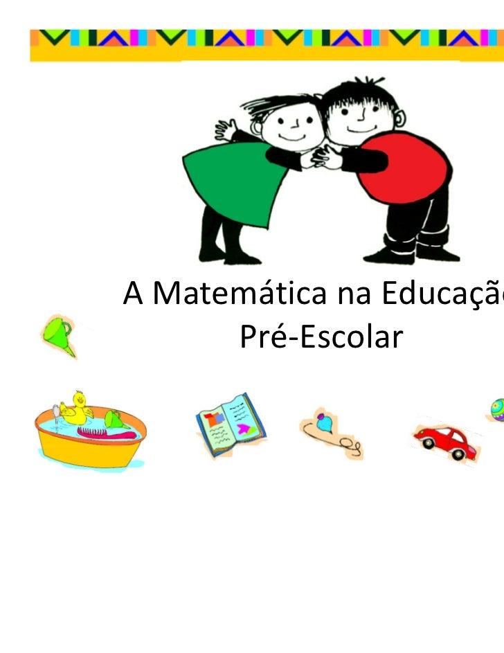 Matemática no Pré-escolar