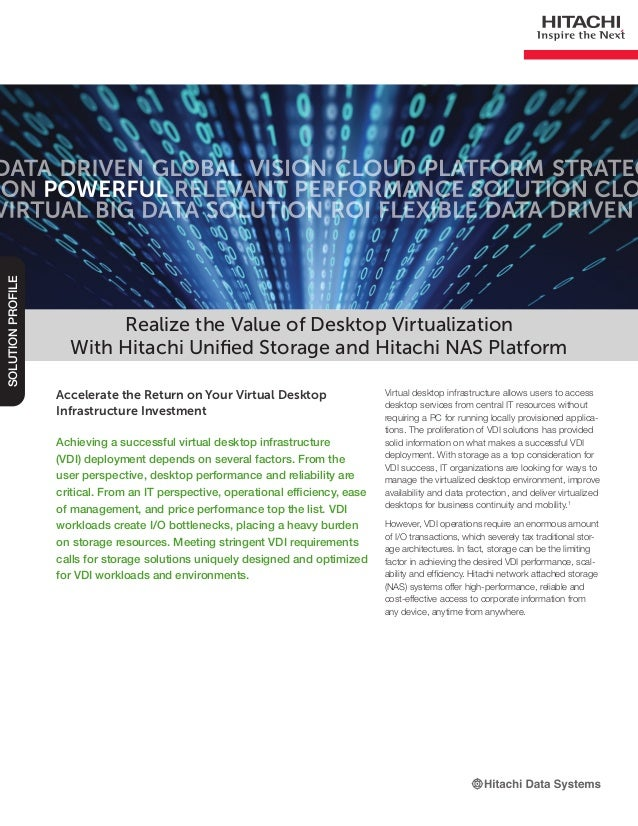 Accelerate the Return on Your Virtual Desktop Infrastructure Investment Achieving a successful virtual desktop infrastruct...
