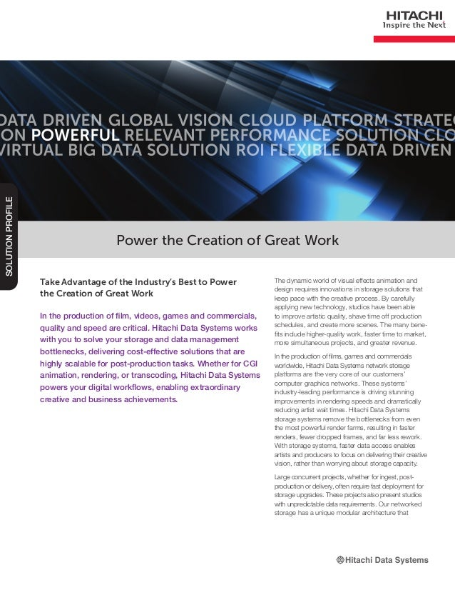Power the Creation of Great Work Solution Profile