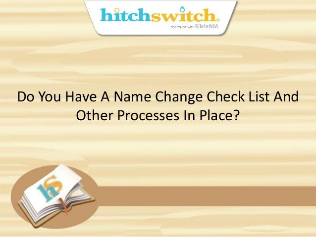 how to check name change in gazette