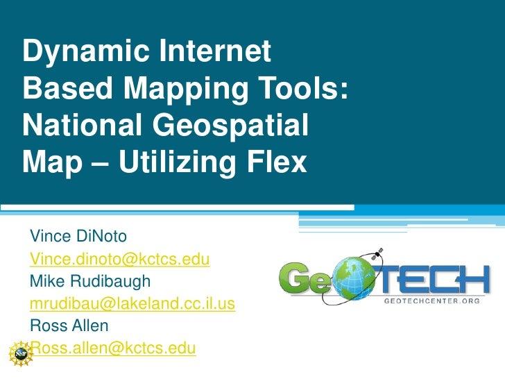 National Geospatial Map