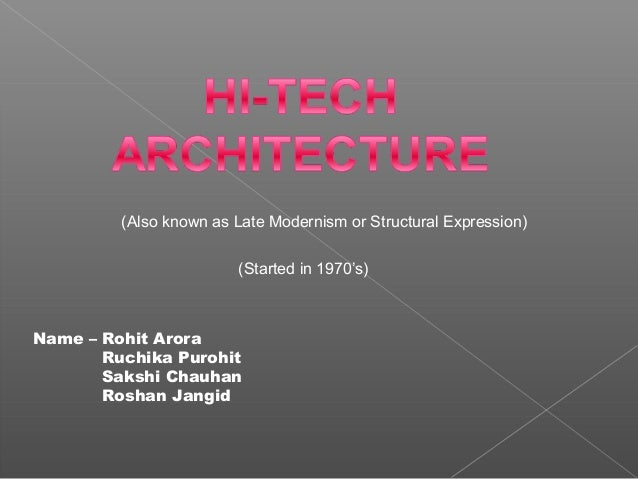architect office names also known as late modernism or structural expression started in 197039s name aarchitect office hideki