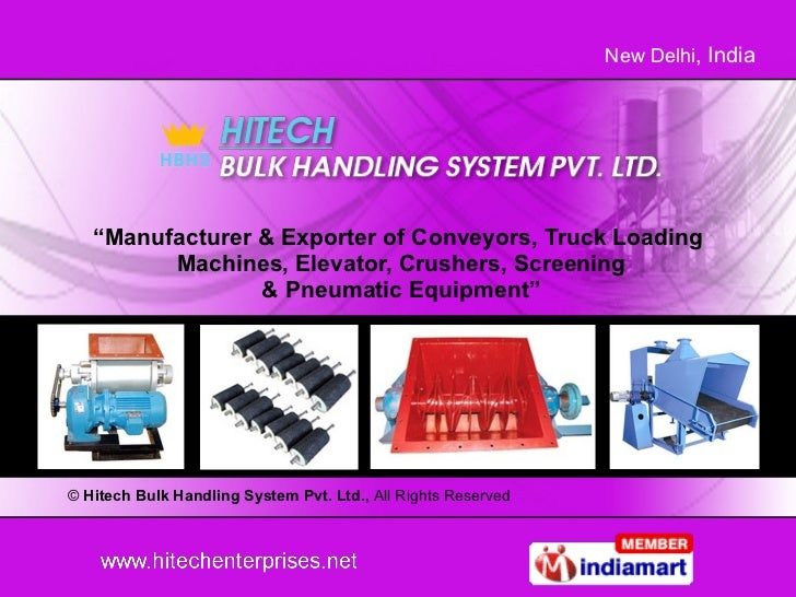Silo Feeding & Extraction Equipments Suppliers Delhi India
