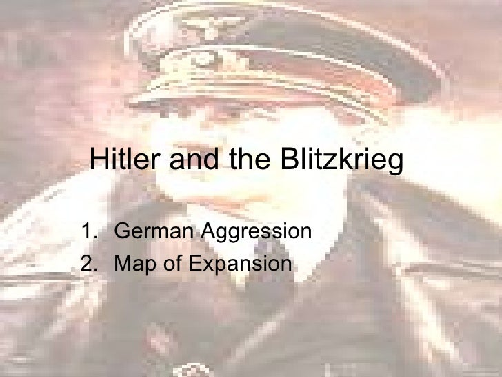 Hitler And The Blitzkrieg
