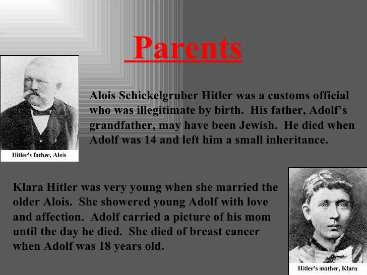 an analysis of adolf hitlers childhood in austria and germany Adolf hitler: adolf hitler leader of the nazi party and fuhrer of germany who initiated world war ii and was adolf hitler spent most of his childhood in.
