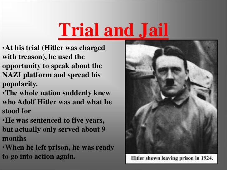 adof hitler biography paper Adolf hitler did not live a very long life, but during his time he caused such a great deal of death and destruction that his actions still have an effect on.