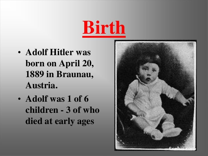 the early years and rise of adolf hitler The rise of the fuhrur before world war 1 (fall 2012) sitemap home       specific individuals       the childhood and early adulthood of adolf hitler (fall  2012)  this experience that hitler was around death from an early point in his  life.