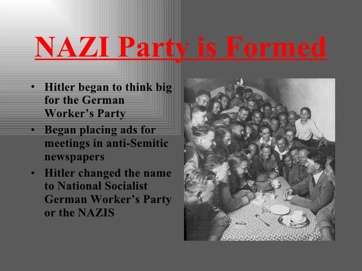birth of nazism The rise of hitler and destruction of the german left the rest of this collection deals specifically with the rise of the nazis in the early 1930s.