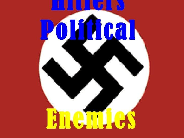 Hitlers Political Enemies