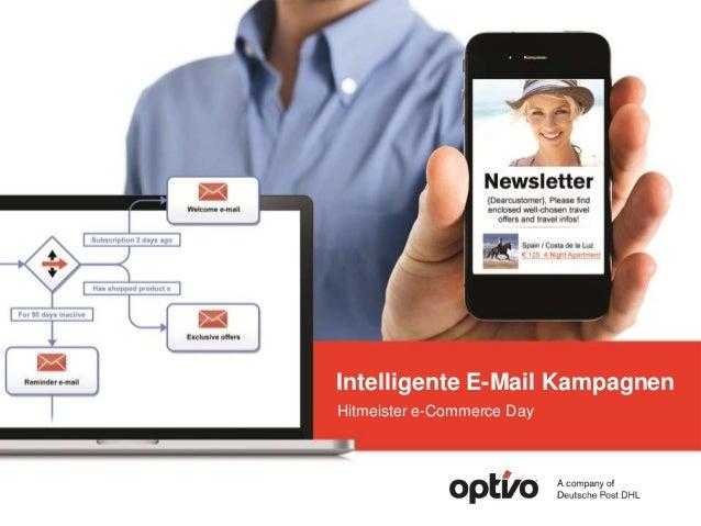 Intelligente E-Mail Kampagnen Hitmeister e-Commerce Day