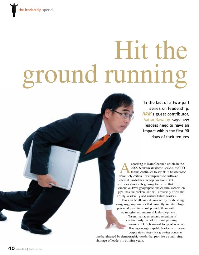 issue 12.7 hrmasia.com40 the leadership special In the last of a two-part series on leadership, HRM's guest contributor, S...