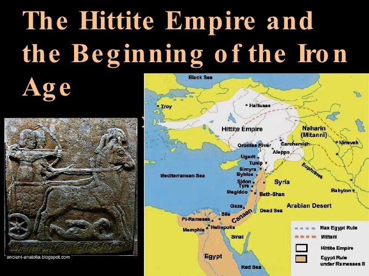 The Hittite Empire and the Beginning of the Iron Age (1700-1200 BCE)