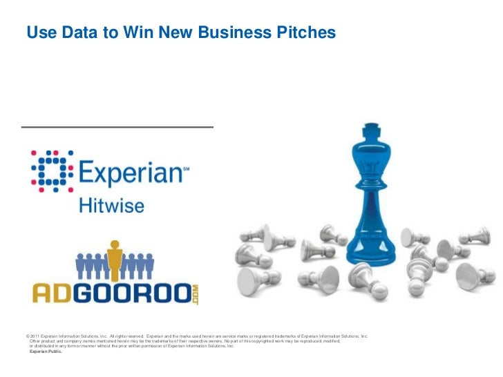 Use Data to Win New Business Presentation