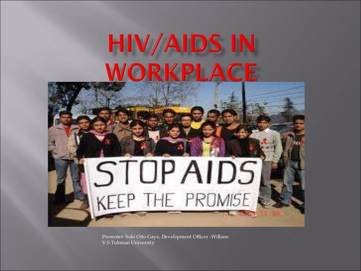 HIV-AIDS in a Workplace