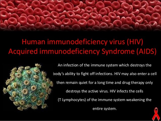 human immunodeficiency virus infection essay The human immunodeficiency virus (hiv) is a retrovirus belonging to the family of lentiviruses retroviruses can use their rna and host dna to make viral dna and are known for their long incubation periods.
