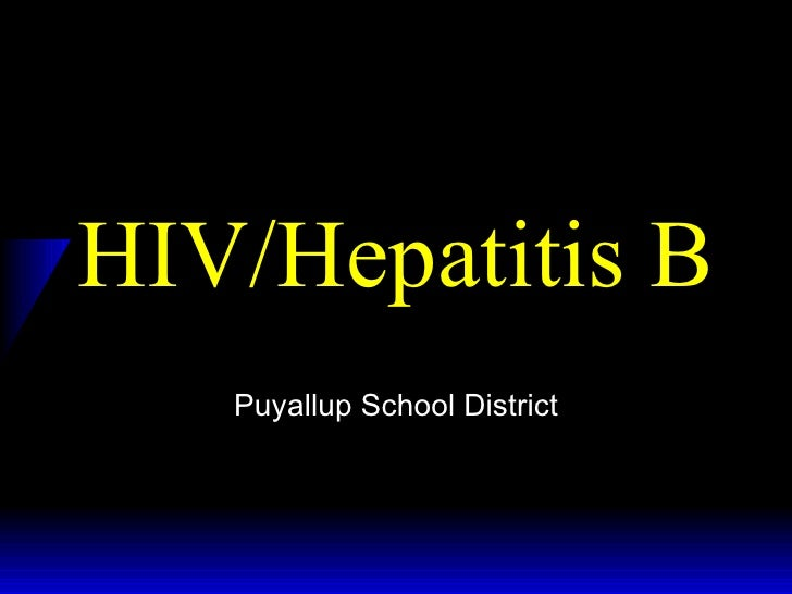 HIV/Hepatitis B Puyallup School District